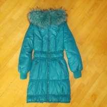 пальто Бирюзовое С утеплением, в г.Кемерово