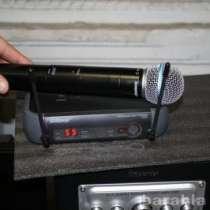Микрофон SHURE PGX24/BETA58 радиосистема, в Москве