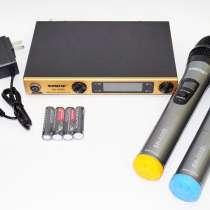 Радиосистема SHURE SH-588D база 2 радиомикрофона, в г.Киев