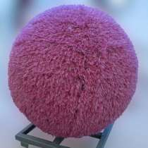 Топиарный шар из искусственной травы 40 см. Розовый, в Краснодаре