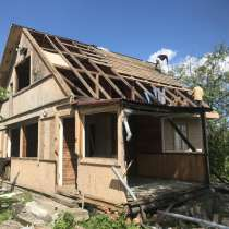 Демонтаж сараев, в Новосибирске