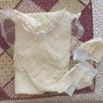Конверт-одеяло на выписку, лето-тепл. осень, в г.Москва