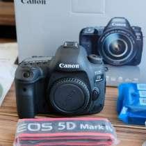 Цифровая зеркальная камера Canon EOS 5D Mark IV 30.4MP, в Санкт-Петербурге