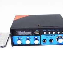 Усилитель BM AUDIO BM-600BT USB Блютуз 300W+300W 2х канальны, в г.Киев