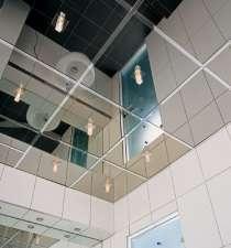 Зеркальные потолки алюминиевые подвесные, в Калининграде