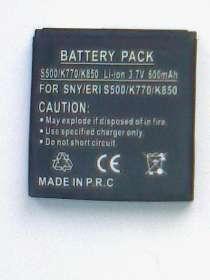 Аккумулятор (новый) для сони эриксон S500/K770/K850, в г.Минск