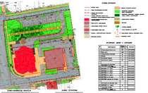 Схема планировочной организации земельного участка, в Сочи