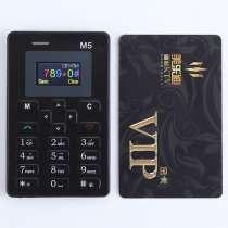 Мини мобильный телефон AIEK M5 с кредитную карточку, в г.Павлодар