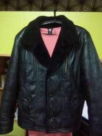 Мужская кожаная зимняя куртка, в Ижевске