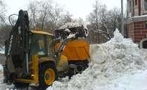 Уборка и вывоз снега, в Тюмени