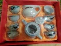Китайский чайный сервиз Чёрный Дракон на 8 персон из Китая, в Москве
