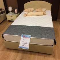 Кровать с ортопедическим матрасом и ортопедическим основание, в Балаково