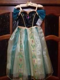 Платье Анны коронация Холодное сердце Дисней оригинал США, в Москве