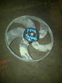 Peogeot 206 вентилятор радиатора без кондиционера, в Санкт-Петербурге
