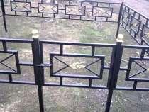 Изготовление оград на кладбище, в Химках