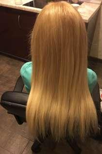 Наращивание волос, кератиновое выпрямление, ламинирование, в Москве