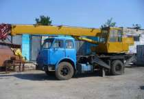 Кран-на базе МАЗ, в Перми