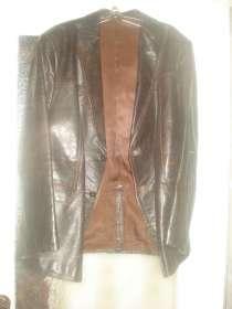 Мужской кожаный пиджак, в г.Минск