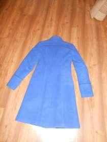 Пальто зимнее драповое синее, в г.Запорожье