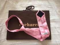 CACHAREL розовый галстук в подарочной упаковке, в Москве