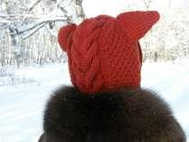шапка лиса ручная работа, в Саратове