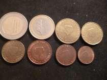 Набор евро Нидерланды от 1ц до 2 е 2001 год, в Москве