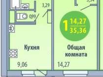 Продаю 1ком. квартиру на Кунгурцева, в Ижевске