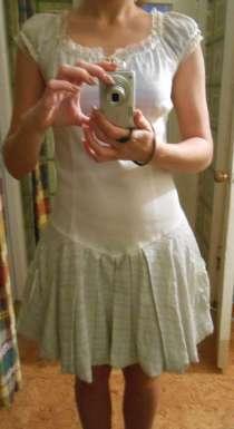 Платье женское белое бежевое новое, в г.Запорожье
