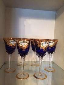 Продаю богемскую посуду из чешского стекла, в Краснодаре
