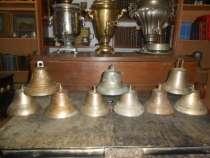 Коллекция из девяти старинных колоколов, в Иванове