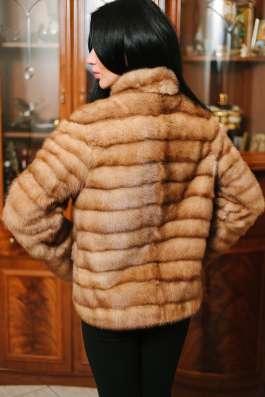 Норковая куртка автомобилка, golden pastel, 42-44 в г. Симферополь Фото 2