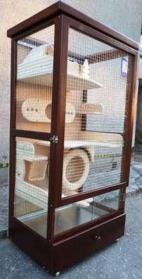 Витрина-клетка для содержания шиншилл, дегу, кроликов в г. Харьков Фото 4