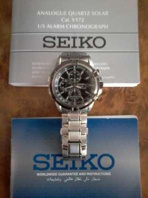 Часы наручные SEIKO-SOLAR, солнечная зарядка