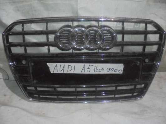 Решетка бампера Audi A5 Рест