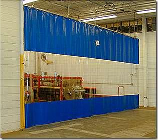 Защитные ПВХ шторы