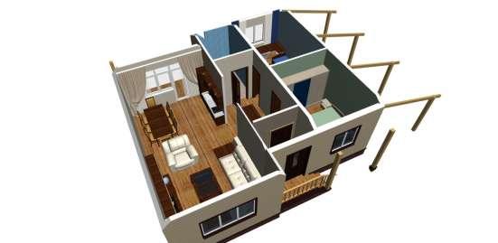 Проекты домов, коттеджей готовые и под заказ в г. Кумертау Фото 1