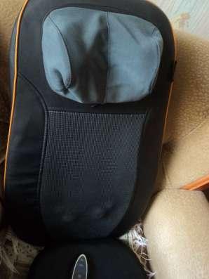 Продам массажер-накидка на кресло, можно в автомобиль в Юрге Фото 1