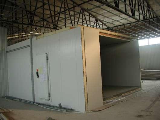 Установка холодильных, морозильных камер в Крыму