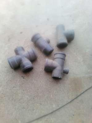 Фасонные части для канализации п/п