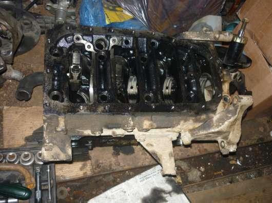 Fiat Ducato 2.5D блок двигателя