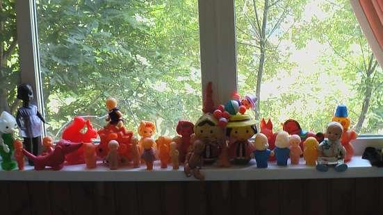 Игрушки СССР пластмассовые пупсы