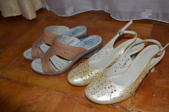 Туфли женские светлые