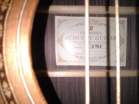 Гитара акустическая Cremona D977