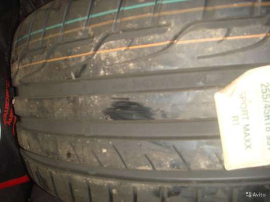 Новые шины данлоп 215/50 R17 Sport Maxx RT MFS 91Y в Москве Фото 1