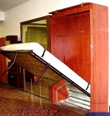 Подъемная кровать-стальной каркас на противовесах на 40 лет в Санкт-Петербурге Фото 4