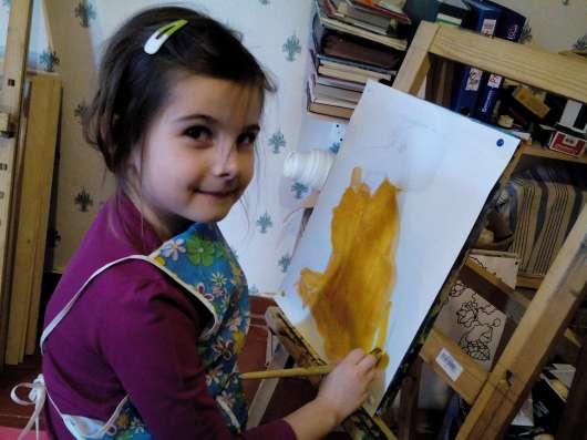 Обучение рисунку, живописи, росписи ткани
