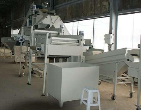 Автоматическая линия переработки, обработки картофеля, моркови.