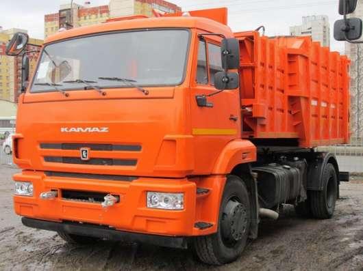 Мусоровоз МКМ 4503 / КАМАЗ 43253 2015 г., 18 м3, х2 шт.