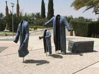 Креативные скульптуры из металла