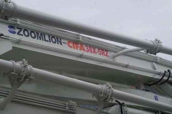 Автобетононасос Zoomlion 38X-5RZ на шасси Isuzu